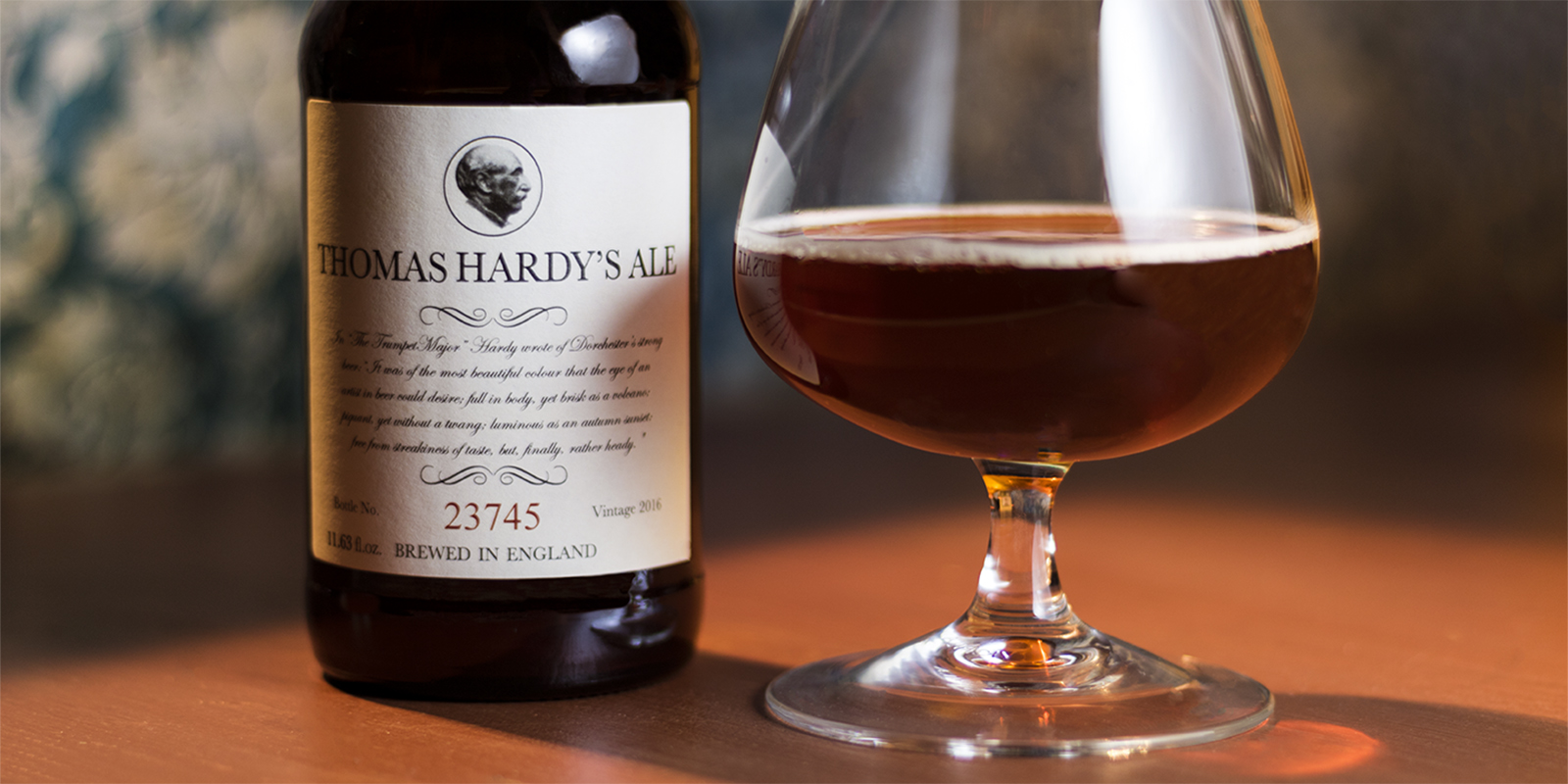 How to enjoy a Thomas Hardy's Ale
