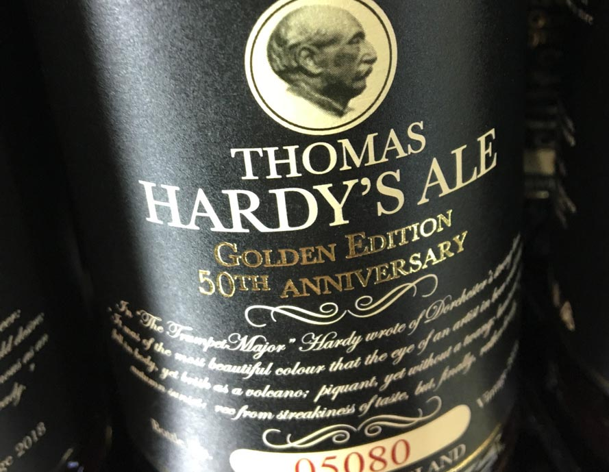 50th Anniversary for Thomas Hardy's Ale